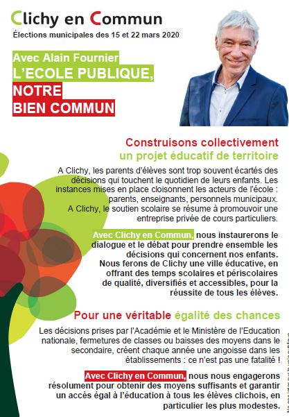 Tract éducation recto